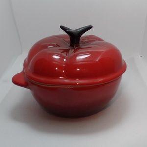 Le Creuset Stoneware Petite Tomato Casserole 8-Oz